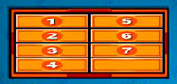 Family Feud - 7 Answer Chart