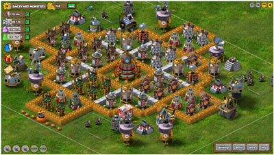 Backyard Monsters Base facebook backyard monsters tips & hints - defending the base