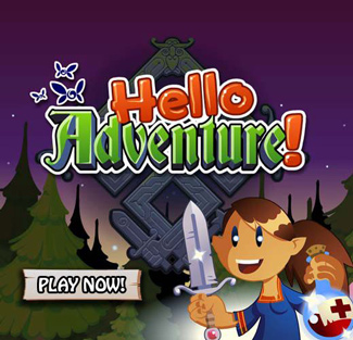 Hello Adventure! Facebook Game App